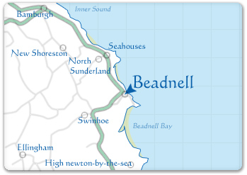 A Map Of Beadnell...